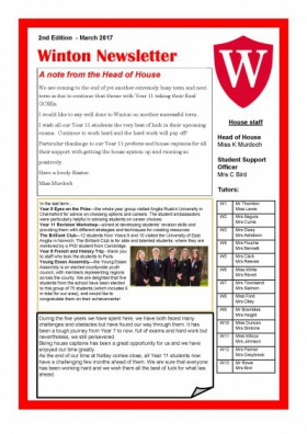 Winton Newsletter March 2017