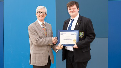 Patrick Loveard -  Jack Petchey Winner January  2019