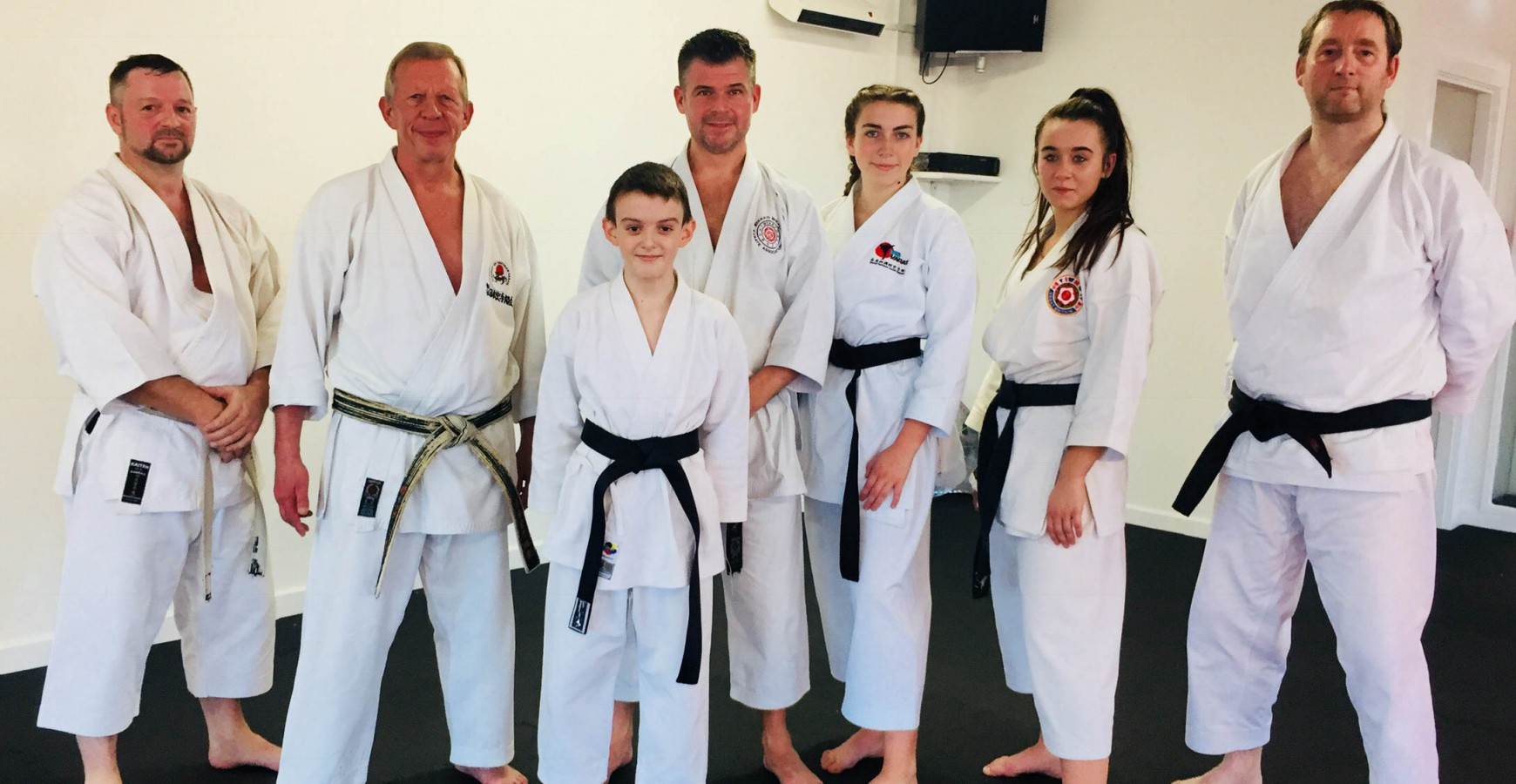 Amy Marsh Karate Achievement