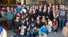 Spanish Students from IES Foramontanos visit the School