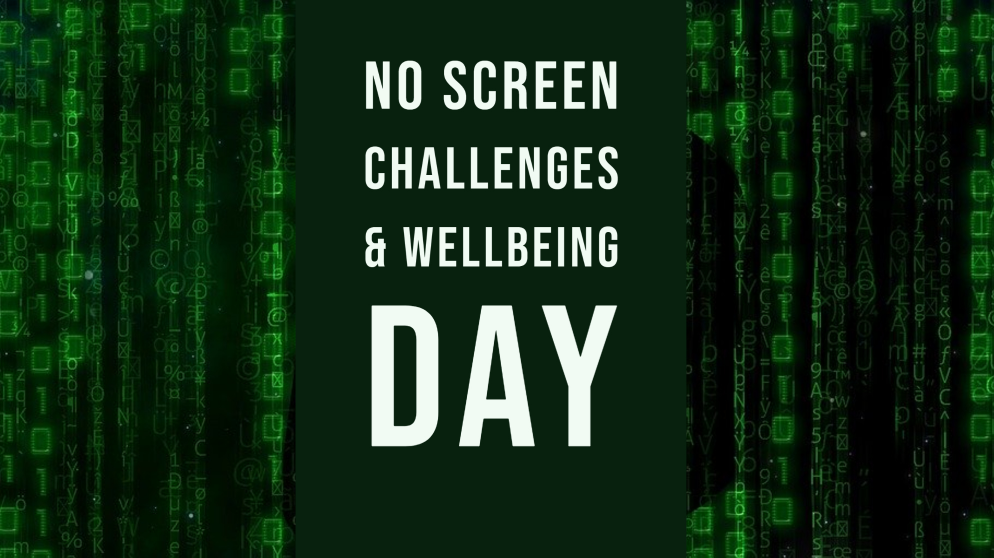 No Screen Challenges & Wellbeing Day - Notley High School & Braintree Sixth  Form
