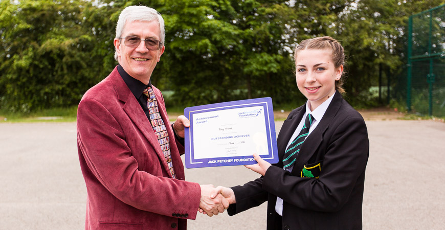 Amy Marsh - Jack Petchey Winner June 2016
