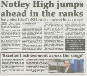 Notley High Jumps Ahead in the Ranks