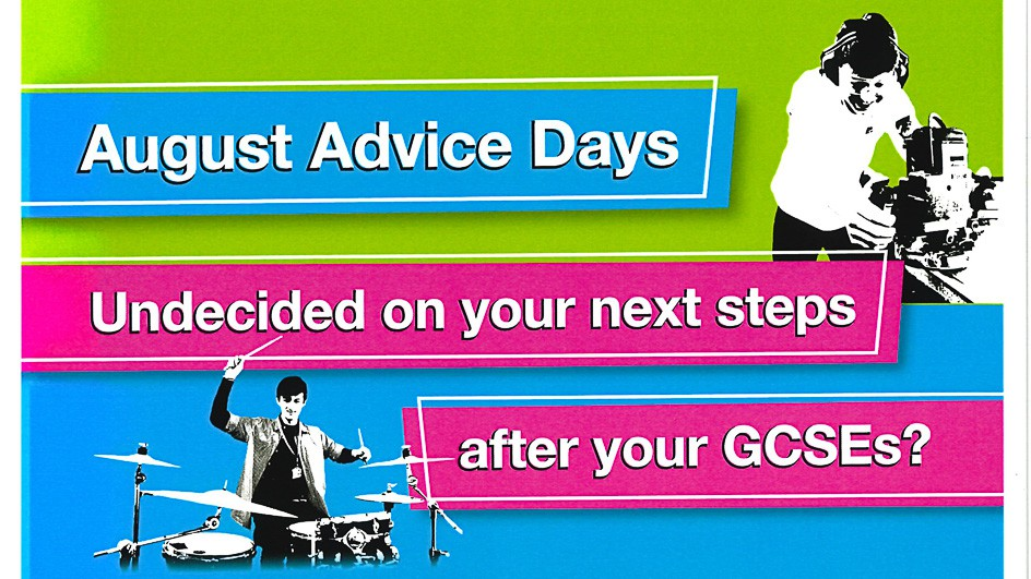 Colchester Institute - August Advice days